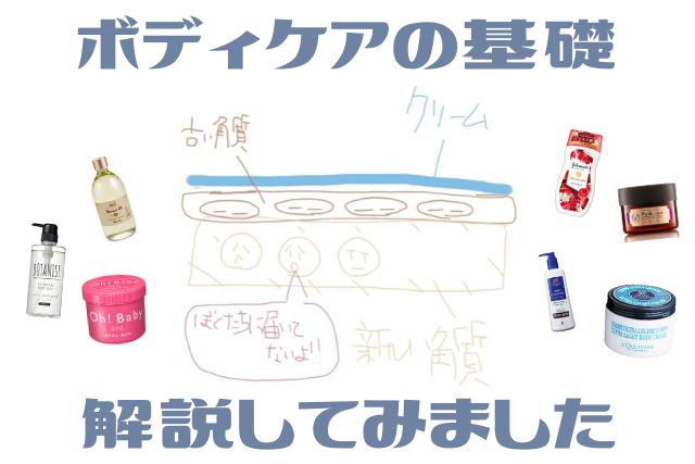 夏からでは遅い!ボディケアの基礎と個人的おすすめケア商品を8つ紹介
